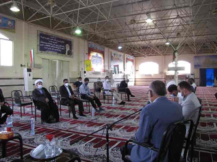 جلسه شورای اداری بمناسبت 5 مرداد سالروز اقامه اولین نمازجمعه در کشور