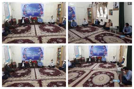 دیدار مسئول و اعضای شورای هماهنگی تبلیغات اسلامی با امام جمعه کارون