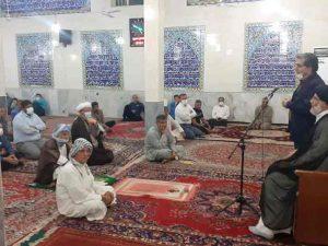 بازدید نماینده ولی فقه در استان و امام جمعه کارون از منطقه درویشیه کوت عبدالله