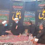 سرکشی امام جمعه شهرستان ازمواکب وایستگاه صلواتی