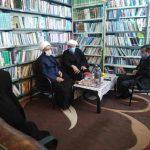 بازدید امام جمعه کارون از حوزه علمیه خواهران