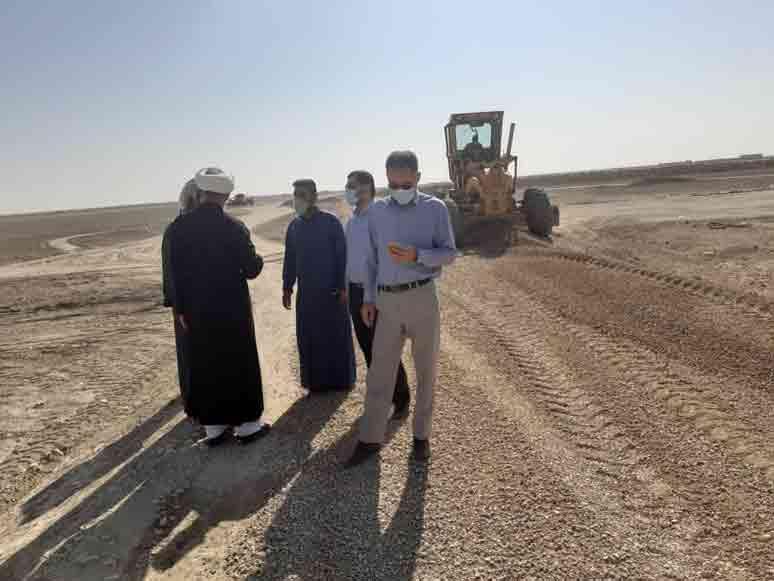 گزارش تصویری/بازدیدامام جمعه کارون از روستاهای حنیطیه1 و 2