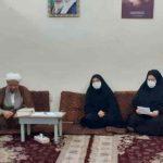 دیدارفرماندار و مسئول کتابخانه های شهرستان با امام جمعه