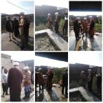 بازدید امام جمعه کارون از فعالیت گروه جهادی