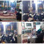 مراسم روضه خوانی و سخنرانی امام جمعه کارون درحسینیه امام علی