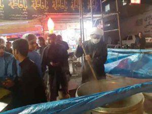 بازدید امام جمعه کارون ازمحل پخت و اطعام فاطمیه در شهرستان