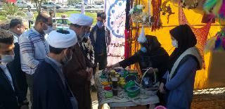 نمایشگاه عفاف وحجاب در فرهنگسرای مهدیه کوت عبدالله افتتاح شد