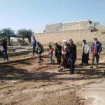 پیگیری رفع مشکلات اهالی روستای ام البنین توسط امام جمعه محترم کارون