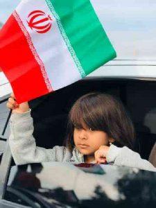 راهپیمایی خودرویی ۲۲ بهمن در شهرستان کارون