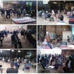 بازدید امام جمعه و فرماندار کارون از کارخانه آجرسازی جیل جنگیه