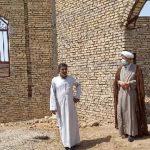 بازدید امام جمعه کارون از مسجد روستای ام البنین