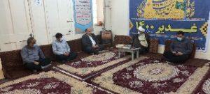 دیدار شهردار و جمعی از پرسنل با امام جمعه بمناسبت 5مرداد