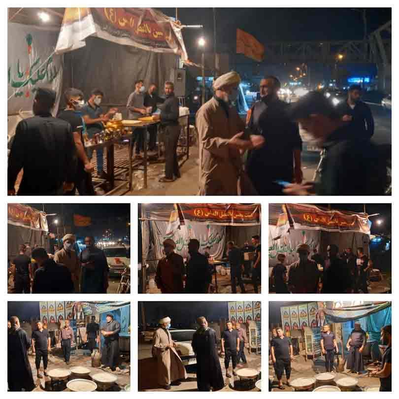 بازدید امام جمعه از مواکب سطح شهرستان