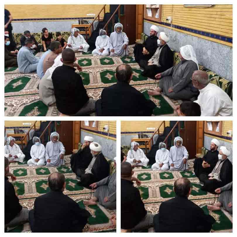 دیدار امام جمعه محترم کارون با مردم در شهرک بسیج